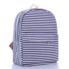 Blue Fine Provision Of New European And American Fashion Favorite Shoulder Bag Backpack Bag Canvas Bag Fashion