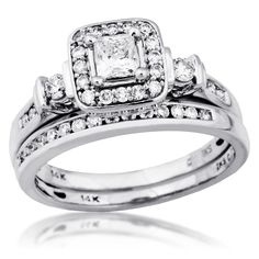 Riddle's Jewelry :: Details for Ladies Diamond Wedding Set in White Gold (#11848976)1449
