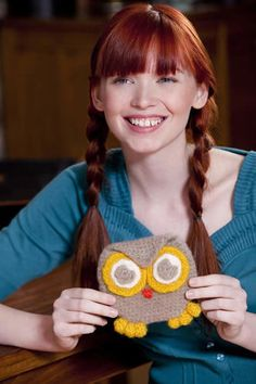 Owl Purse   Stitch Nation by Debbie Stoller: 100% Natural, 100% Affordable Yarn