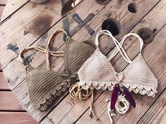 PDF-file for Crochet PATTERN for Ariella Mermaid Bralette
