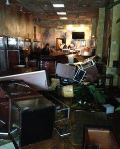 Hurricane Sandy Damage to a Gevril Retailer
