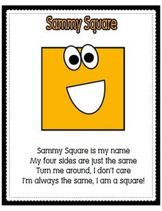 Shape Poems Posters will brighten up any primary classroom. These are a hit on teachers pay teachers!