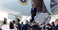 """Obama Snubbed by Chinese, Forced to Exit from """"Ass"""" of Air Force One (9/4/16)"""