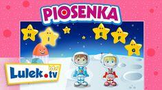 Nauka alfabetu (abecadła) dla dzieci – Piosenki dla najmłodszych - Lulek.tv