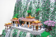 """LEGO Samurai Code"" model by Ben Pitchford."