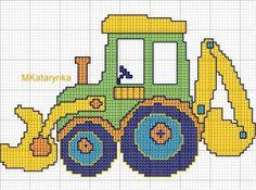dla dzieci Cross Stitch For Kids, Mini Cross Stitch, Cross Stitch Borders, Cross Stitch Charts, Counted Cross Stitch Patterns, Cross Stitch Designs, Cross Stitching, Cross Stitch Embroidery, Embroidery Patterns