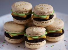 basic macarons via one vanilla bean (with recipe and baking advice)