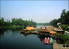 River Kwai, Kachanaburi, Thailand