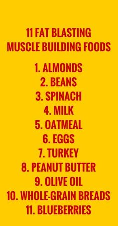 Include these foods in your meals to maximize fat burning and muscle building. #diet #health #fitness