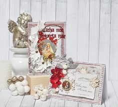 """Christmas Cards by Maja Nowak - """"A Gift for You"""""""