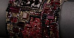 Garnet, Seed beads and Seeds on Pinterest