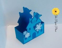 Frozen Inspired Castle Party Favor Boxes  by ThePaperPlaceAndMore