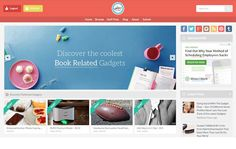 The Gadget Flow - Discover the Coolest Gadgets of the Web - Flat Design Inspiration