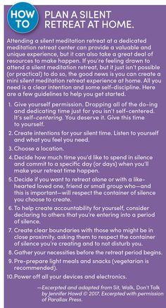 What Happened When I Took a Vow of Silence Women's Retreat, Meditation Retreat, Retreat Ideas, Yoga Meditation, Spiritual Retreats, Spiritual Wellness, Mental Health Retreat, Wellness Tips, Health And Wellness