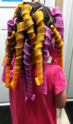 Rockabye Butterfly: Curlformers  Looks like predator with curlers in hair but the final look is cute.
