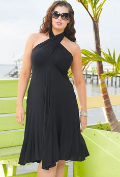 Six-in-One! Convertible St. Lucia Plus Size Dress by Beach Belle® by swimsuitsforall, via Flickr