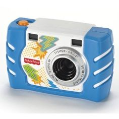 Amazon.com: Fisher-Price Kid-Tough Digital Camera - Blue: Toys & Games...Logan loves to take pic's