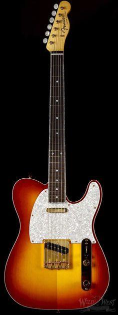 Fender Masterbuilt John Cruz Spruce Top Telecaster with Zebrawood Body