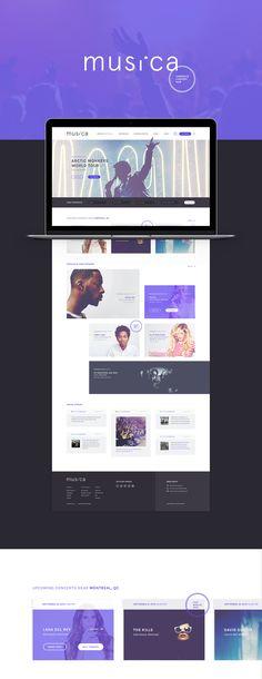 MUSI.CA on Web Design Served