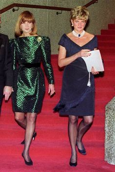 Photo Pin, Blue Carpet, Lady Diana Spencer, Royal Blue, High Neck Dress, Princess, Red, Ottawa, Collection