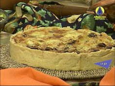 Receita: Como Fazer Torta de Bacalhau - YouTube