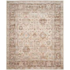 Maharaja Brown/Ivory 8 ft. x 10 ft. Area Rug