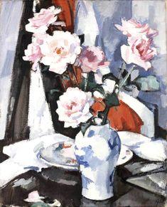 S J Peploe | Roses