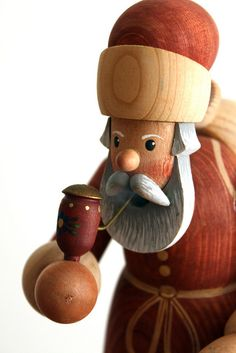 Santa. My mom had a German smoking santa. I love this one. Now I need to find it!