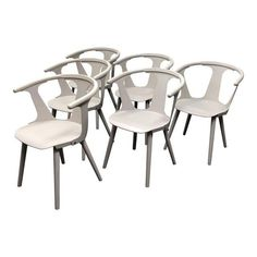 """&Tradition """"In Between"""" Sami Kallio Dining Chairs - Set of 6 - Image 1 of 10"""