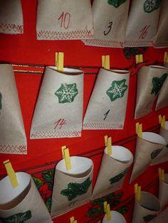 ruličky od toaletního papíru - Hledat Googlem Advent Calendars, Holiday Decor, Home Decor, Decoration Home, Room Decor, Home Interior Design, Home Decoration, Interior Design