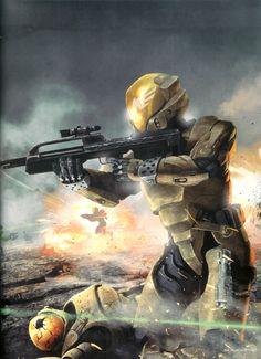 Alien Concept Art, Armor Concept, Halo Armor, Halo Spartan Armor, Casco Halo, Cgi, Halo Game, Halo Reach, Red Vs Blue