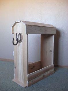 cedar saddle rack