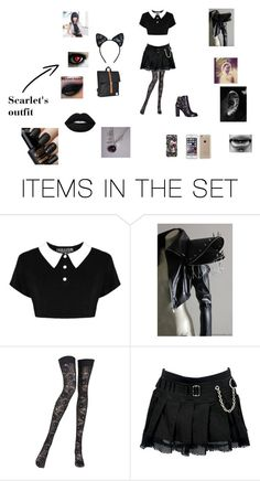 """""""my sister chloe's fanfic outfit"""" by lilly-n-hood-sos on Polyvore featuring art"""