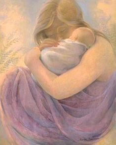 Sandra Bierman ~ Mother and Child Mother And Baby Paintings, Claudia Tremblay, Creation Photo, Wallpaper Aesthetic, Psy Art, Scenery Photography, Divine Mother, Madonna And Child, Hugs