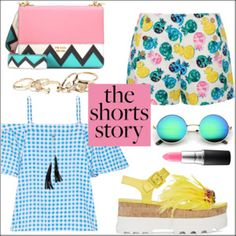 How to Wear: Printed Shorts (TFS)