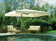Rectangular patio umbrellas are basically an outdoor umbrella that protects the patio furniture from sunlight, as well as rain. Description from homedesignideasx.com. I searched for this on bing.com/images