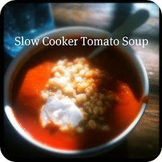 Tomato Soup crock pot recipe | Random Recycling