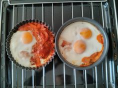 Italiaanse eitjes Against All Grain, Egg Dish, Paleo Breakfast, Fabulous Foods, Healthy Eating, Eggs, Diet, Eating Healthy, Healthy Nutrition