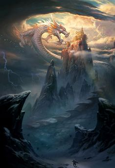 High-rated fantasy books you must read! Flying Lines is a hub of hottest Chinese fantasy novels. And they are all free to read! Mythical Creatures Art, Magical Creatures, Fantasy Creatures, Dark Fantasy Art, Fantasy Artwork, Fantasy Books, Fantasy Monster, Monster Art, Fantasy Places