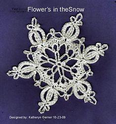 Ravelry: Flowers in the Snow by Katheryn Garner