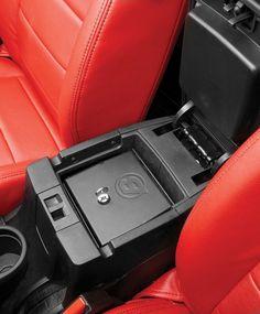 Bestop® Interior Console Lock Box $75 Quadratec Part No: 14114.0020 Manufacturer Part No: 42643-01