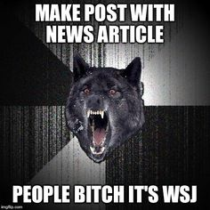 Wall Street Journal Post