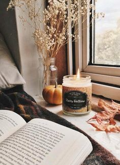 Curl up with a good book and a pretty candle and enjoy the changing seasons fall bedroom. Curl up with a good book and a pretty candle and enjoy the changing seasons. Fall Inspiration, E Claire, Stars Hollow, Autumn Cozy, Autumn Fall, Autumn Ideas, Autumn Feeling, Hello Autumn, Autumn Theme