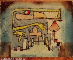Paul Klee 'Deserted Square of an Exotic Town' 1921