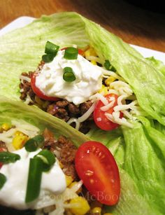 I made lettuce wrap tacos yesterday and it was SO good!