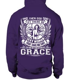 # CREATED GRACE .  CREATED GRACE A GIFT FOR A SPECIAL PERSON  It's a unique tshirt, with a special name!   HOW TO ORDER:  1. Select the style and color you want:  2. Click Reserve it now  3. Select size and quantity  4. Enter shipping and billing information  5. Done! Simple as that!  TIPS: Buy 2 or more to save shipping cost!   This is printable if you purchase only one piece. so dont worry, you will get yours.   Guaranteed safe and secure checkout via:  Paypal | VISA | MASTERCARD