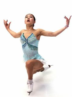 Kanako Murakami, 2011 Japan Figure Skating Championships- Blue Figure Skating / Ice Skating dress inspiration for Sk8 Gr8 Designs.