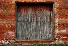 Warwick GA Worth County Spooner Company Freight Warehouse Door Old Picture Image Photo Copyright Brian Brown Photographer Vanishing South Georgia USA 2011