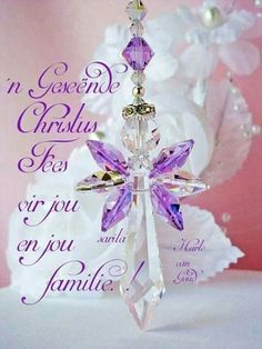 Guardian Angel Car Charm created with Violet Swarovski Crystals. Christmas Card Sayings, Christmas Blessings, Christmas Wishes, Christmas Art, Christmas And New Year, Christmas Bulbs, Christmas Verses, Christmas Messages, Christmas Stockings