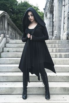 nice Darkness Cardigan Cloak by http://www.polyvorebydana.us/gothic-fashion/darkness-cardigan-cloak/